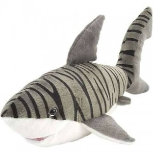 "Tiger Shark 15"" Plushie"