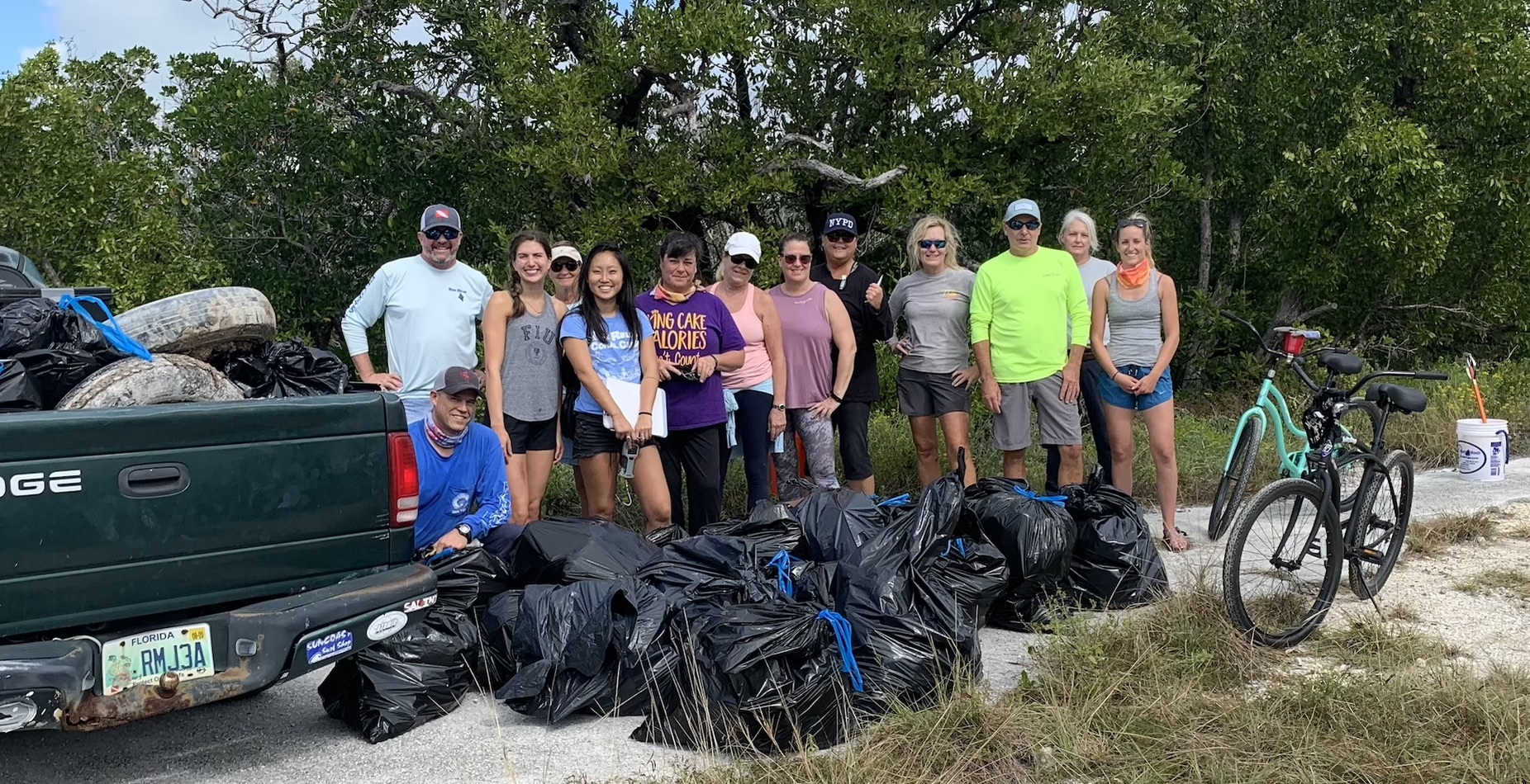 Sugarloaf Clean-Up was a success!!